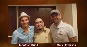 Jonathan Budd -  Chema Barboza - Mark Hoverson